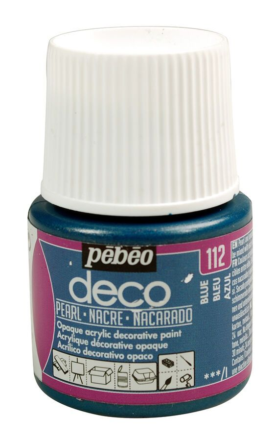 Pebeo Deco Pearl Multi Surface Craft Diy Acrylic Paint 45ml Ebay Diy Interior Decor Diy Painting Deco