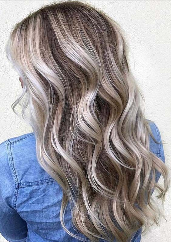 Chocolate Blonde Hair Google Search In 2019 Hair Color