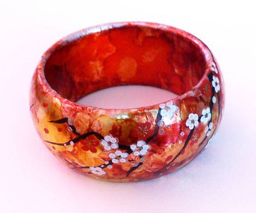 Super easy oriental bangle EDIT: step by step pics! - JEWELRY AND TRINKETS