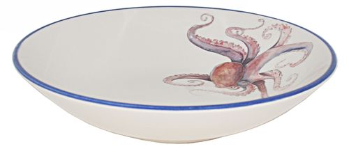We are so excited to present these new Octopus Pasta Bowls, created in Italy with artistic attention to detail and quality from Abbiamo Tutto.