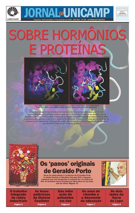 Sobre hormônios e proteínas. Estudo abre frente para produção de hormônios tireoidianos sintéticos