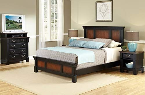 Best Seller Home Styles The Aspen Collection Queen Bed Media