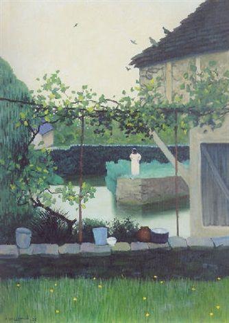 Paysage à Souillac (1925), by Félix Vallotton (1865-1925).: