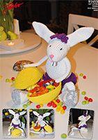 Free crochet pattern: Amigurumi Rabbit
