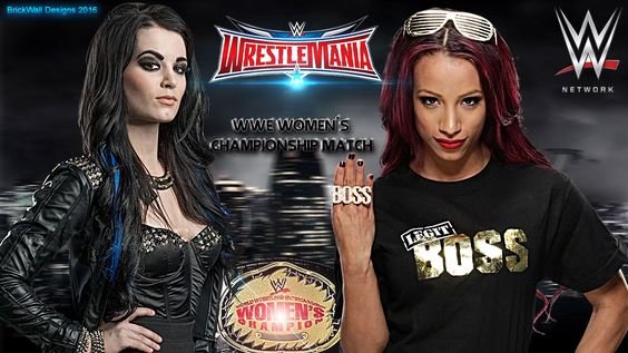 Sasha-vs-paige WM by BrickWallDesigns
