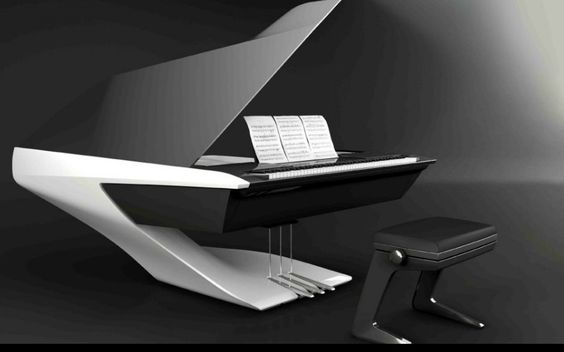 Piano of the Future - Peugeot Design Lab