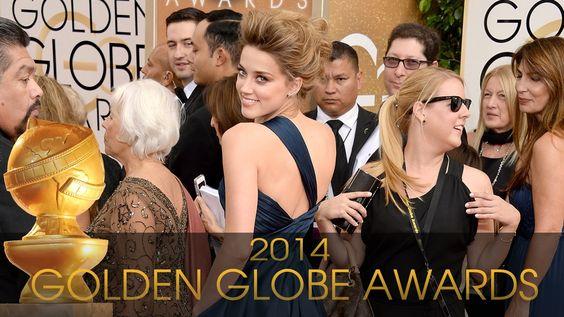 Amber Heard at 2014 Golden Globes
