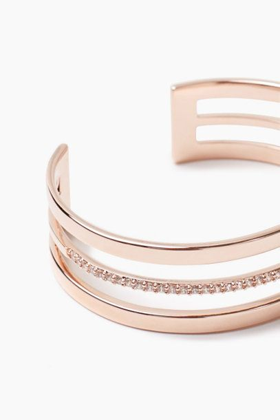 Esprit / Vergoldetes Armband mit Zirkonia