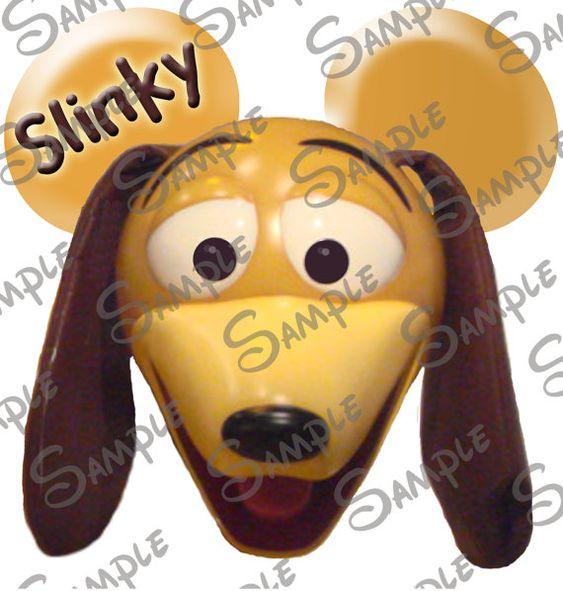 DIGITAL printable DIY Toy Story Slinky dog by PixieDustDesignsbyMe