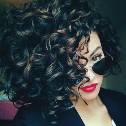 curly hair: