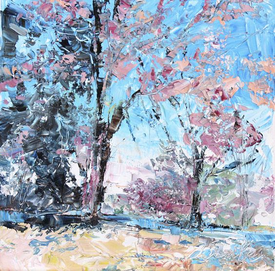 New England Landscape No43 limited edition of by oilworksbysumiyo, $55.00