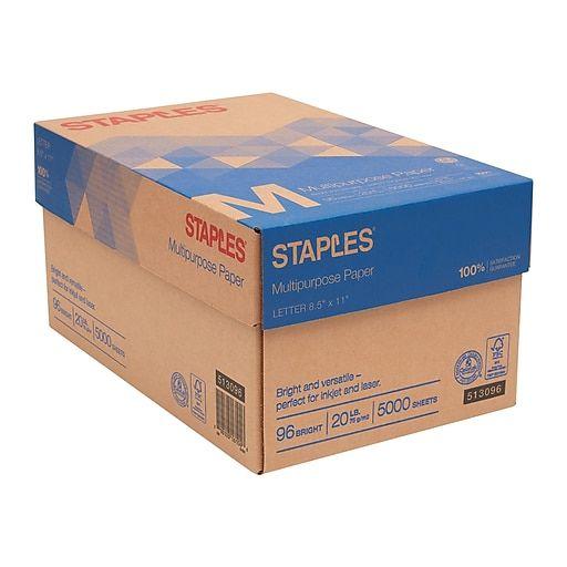 Georgine Saves Blog Archive Good Deal Staples Multipurpose Paper 8 5 X 11 10 Ream Case 36 99 Paper Staples Business Essentials