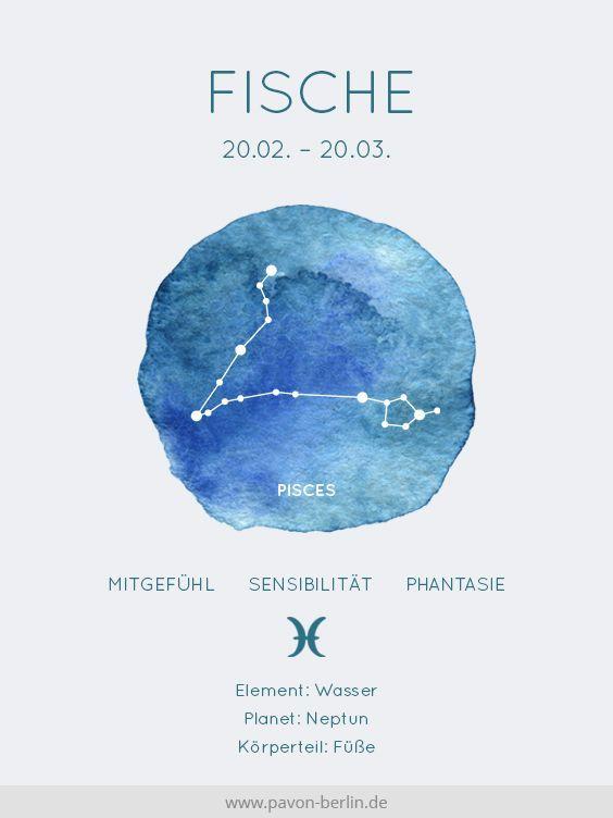 Sternzeichen Fische Fisch Pisces Sternbild Bedeutung Und
