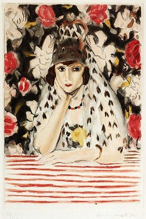 Henri Matisse (French artist, 1919-1942)  The Spaniard 1928:
