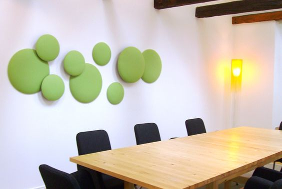 Id Wall Decorations Decoration Ideas And More Circles Acoustic Panels