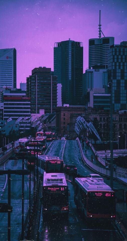 Dystopianscty Dark Purple Aesthetic Aesthetic Wallpapers Scenery Wallpaper Dark purple aesthetic wallpaper city