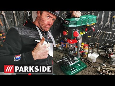Parkside Perceuse à Colonne 500w Essai Youtube