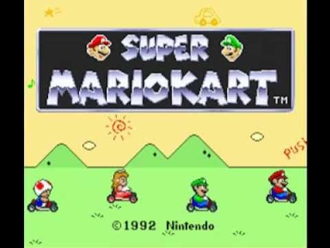 Super Mario Kart Snes Music Toadstool S Rank Youtube Mario Kart Super Mario Kart 90s Video Games