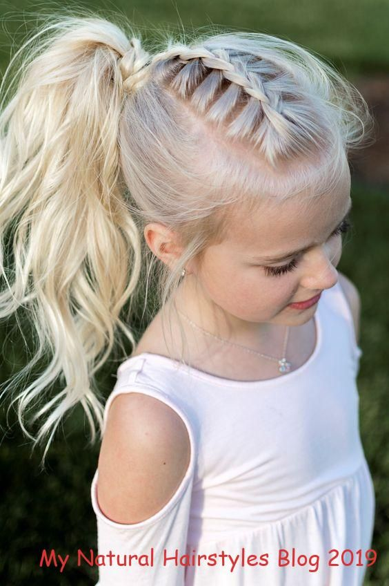 Nette U Einfache Sommer Pferdeschwanz Frisuren Fur Kleine Madchen Einfache Frisuren Fur Kleine Madchen Hair Styles Long Hair Girl Flower Girl Hairstyles