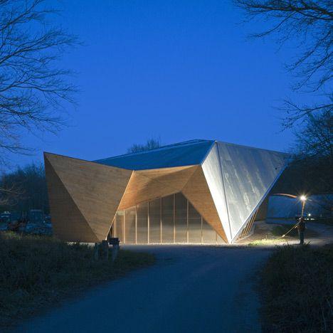 Hooke Park Big Shed | Dorset, England | by AA Design & Make Programme #Dezeen