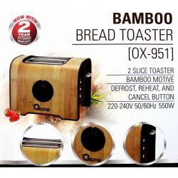 OX-951 Oxone Bamboo Bread Toaster