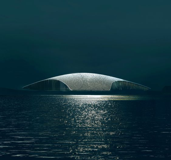 """Dorte Mandrup's Arctic whale watching facility will """"grow out of the landscape"""""""