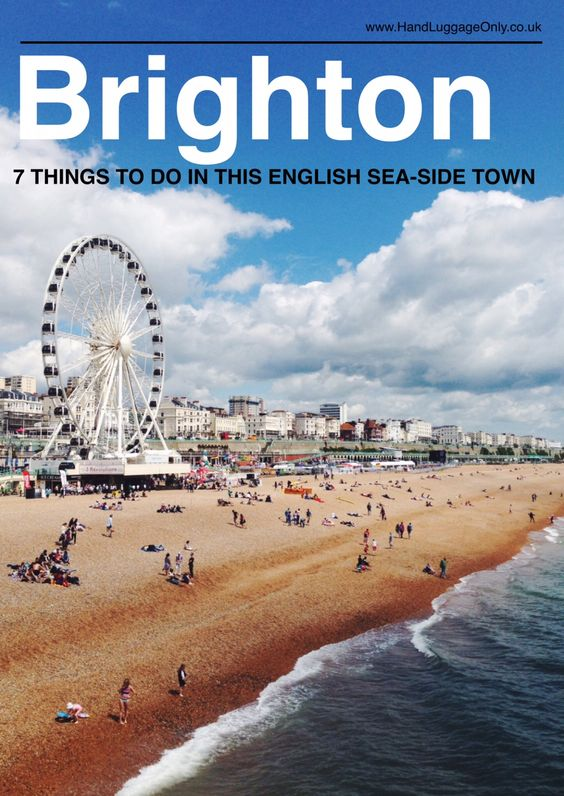 7 Fun Experiences You Need To Have In Brighton, England! - Hand Luggage Only - Travel, Food & Home Blog More