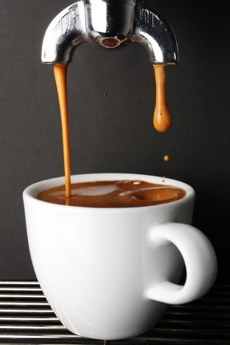 Espresso: Possibly my favorite non-living thing ever. Depending on the day it's either a 'quad espresso' from Coffee Emporium or a macchiato with an extra shot from Collective Espresso. More