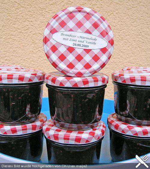 Brombeer - Marmelade mit Zimt und Vanille (Rezept mit Bild)   Chefkoch.de