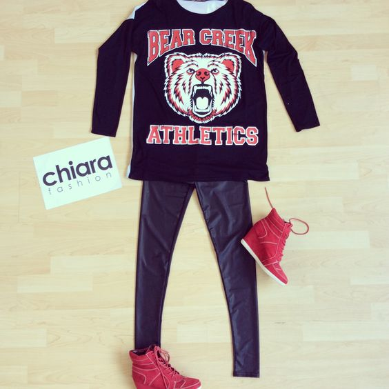 #ootd #fashion #sportluxe #trainers #leggings