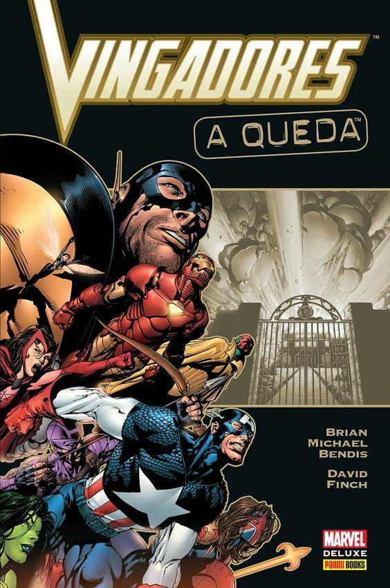 Vingadores: A Queda - Marvel Deluxe - MonsterBrain