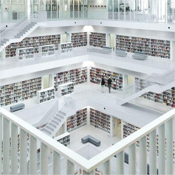 White Library in Stuttgart