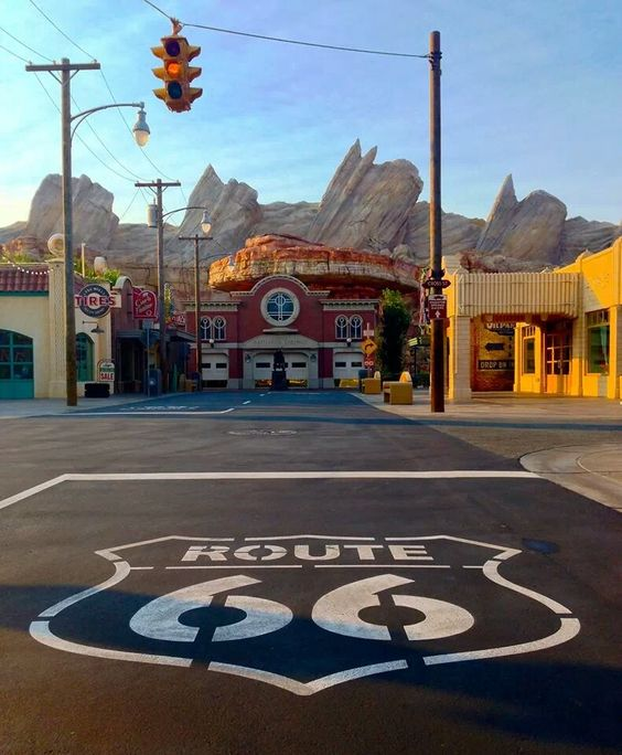 I Love Disneyland. Cars Land Has Become My New Favorite