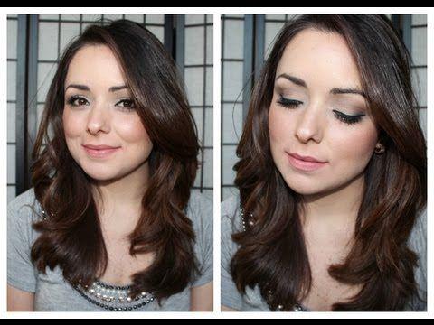 Maquiagem para Trabalho/Escola com Sombras Matte - Especial para o blog da Kamaleoah