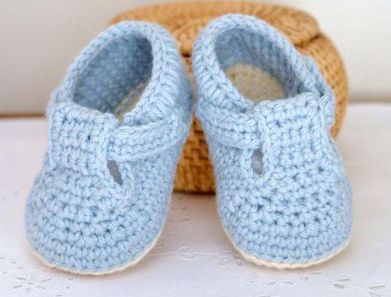 PATRÓN bebé zapatos T-Bar sandalias de bebé de por matildasmeadow