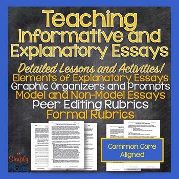 Write explanatory essay
