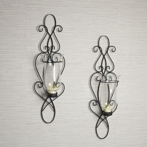 Skyrim Wall Sconces Not Working: Baroque Sconce Set By Danya B