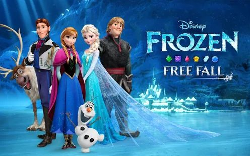 Frozen Free Fall - This game is a blast!