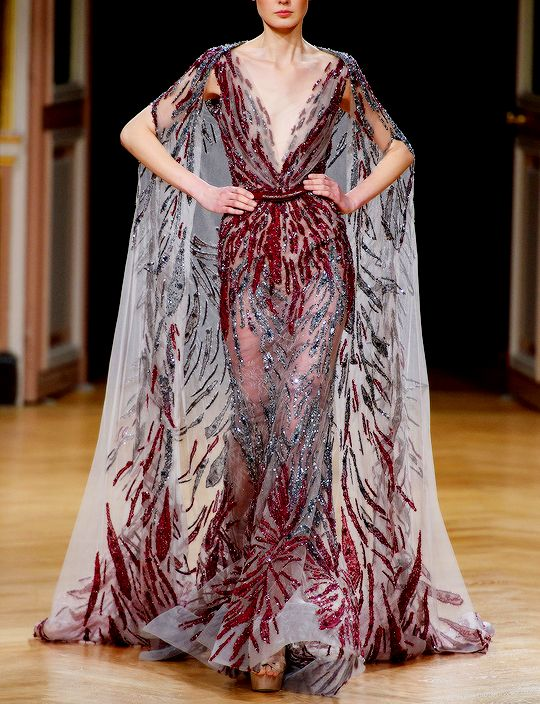 Ziad Nakad at Couture Fall 2016