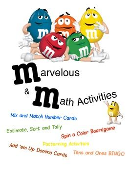 Six great math activities using everybody's favorite candy m