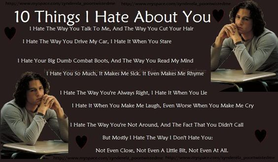 10 Things I Hate About You Movie Quotes: Chang'e 3, Heath Ledger And Love It On Pinterest