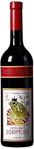 2010 King Frosch Dornfelder Semi Dry 750 mL Wine >>> See this great…