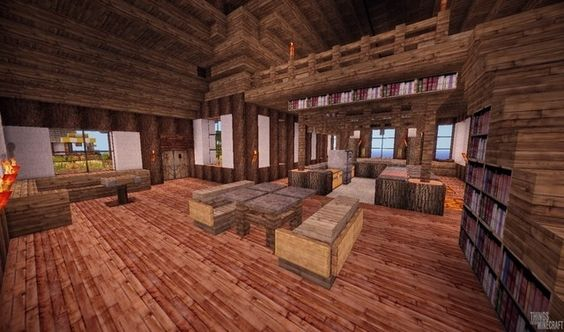 Living room styles, Rustic living rooms and Minecraft on ...