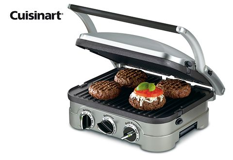 The Cuisinart Griddler Features Five Cooking Options That Can Handle Cooking Everything From Pancakes And Sausages
