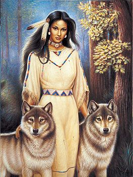 native americans and wolves - Google Search: