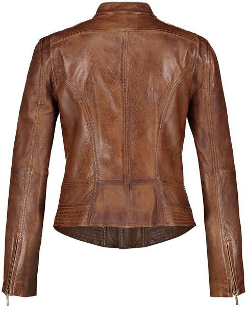 Taifun Blazer Jacke Leder »Lederjacke mit Antik Finish« online kaufen | OTTO