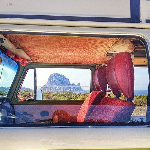 Just a peek thru a classic window of one of the best sights on Ibiza while photo shooting. Es Vedra. Enjoy the Ride! #love #ibiza #esvedra #holyplace #spirit #loveawakens #compassion #veedub | Flickr - Photo Sharing!