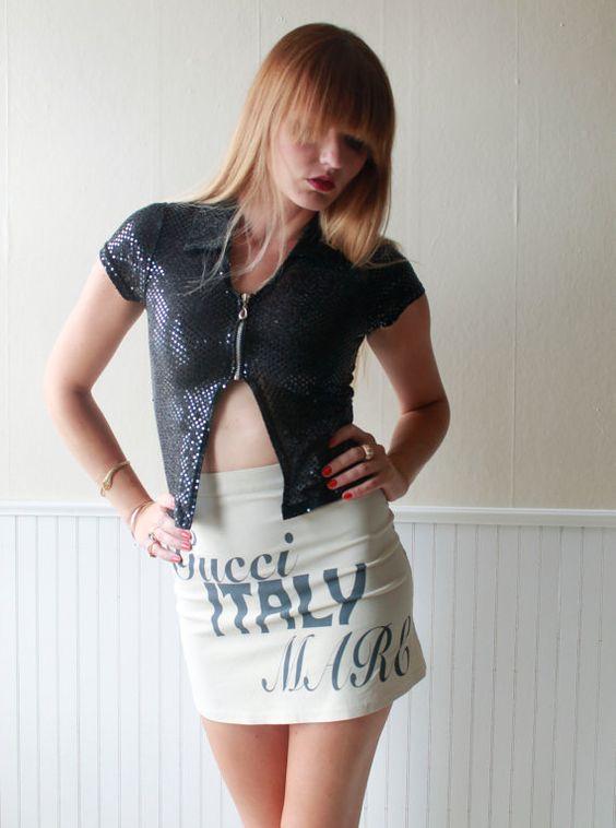 90's Raver Belly View Shirt via Katrajina, $35.00