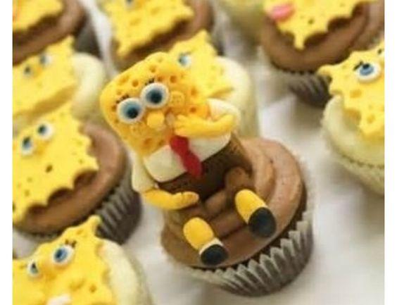 Spongebob Cupcakes!