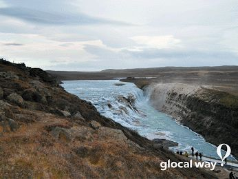 #WorldWaterDay : water is change, work, art and...travel! Gullfoss in Iceland